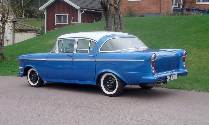 Owner Of A Opel Rekord P1 Built Between 1957 1962